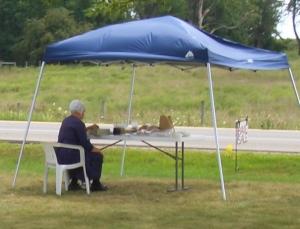 Indiana Amish Roadside Stand