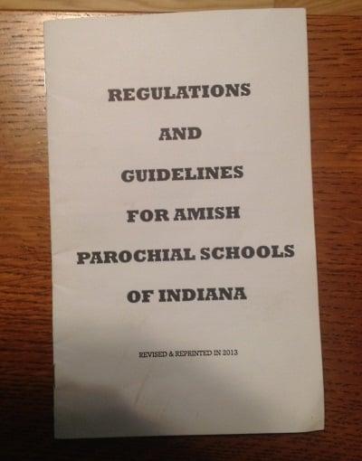 Indiana Regulations
