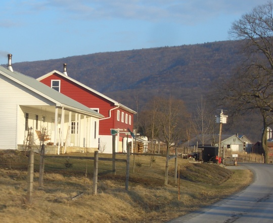 juniata county amish valley