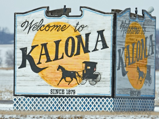 kalona-iowa-town-sign
