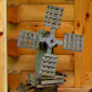 Amish-made Wooden Windmill