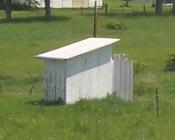 Kansas Amish Outhouse