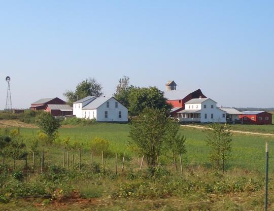 kentucky amish farm hardin county