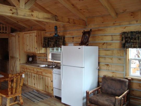 kitchen-log-cabin-amish