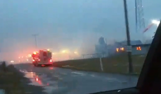 Amish Business Burns Down On First Day
