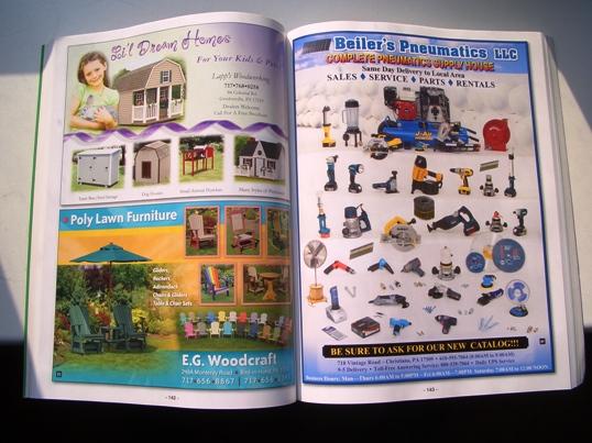 lancaster county amish pneumatics business