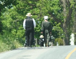 Lancaster Young Amish Family