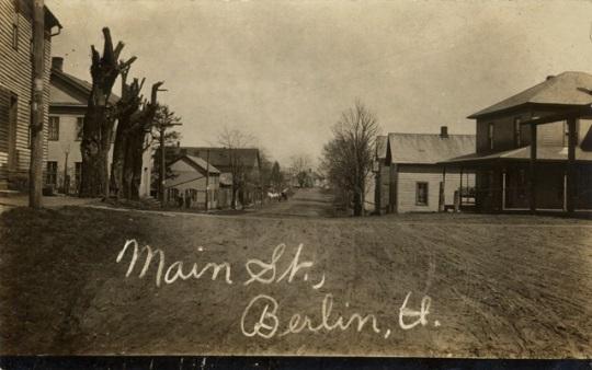 Main Street Berlin OH 1909