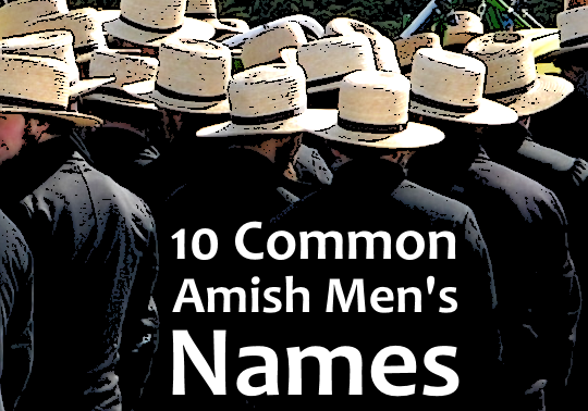 Male Amish First Names