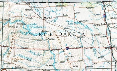 map-of-north-dakota