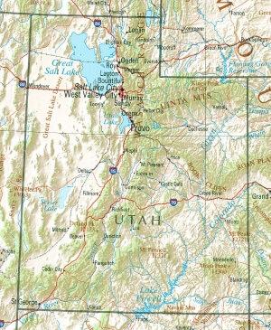 map-of-utah