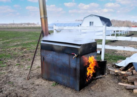 Maple Syrup Sap Boiler