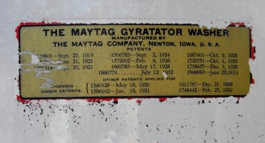 Maytag Gyratator Washer