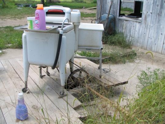 Mennonite Mule Power Washer