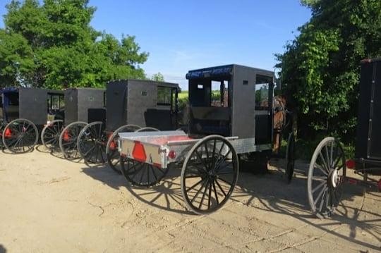 Mennonite Pickup Truck Buggy