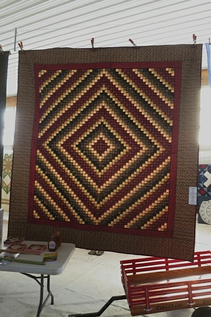 Quilts and more at a Mennonite Haiti Auction