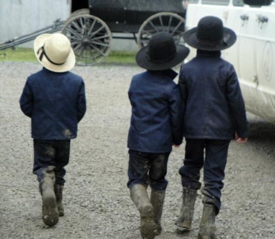 Missouri Amish Boys