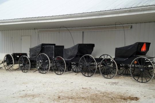 missouri amish vehicles
