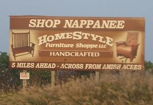 Nappanee Amish furniture