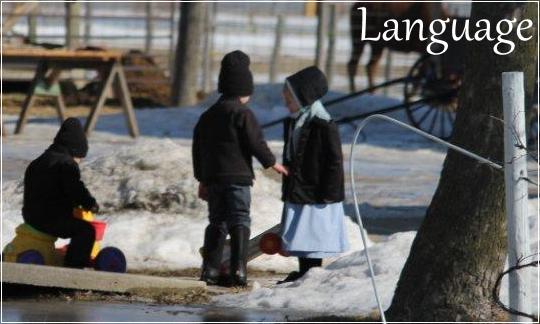 Native Language of the Amish