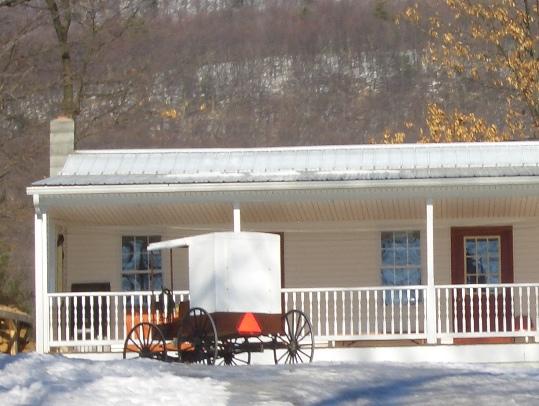 nebraska amish buggy