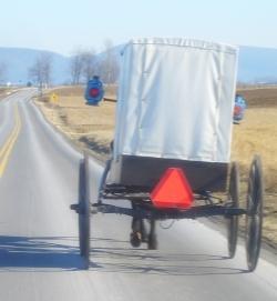 nebraska amish white buggy
