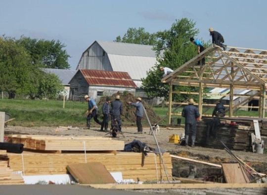 New Amish School Indiana