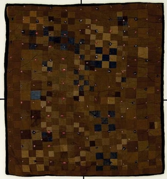 Nine-patch Four-patch Pieced Quilt Amish