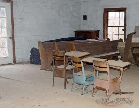 Old Amish School Desks