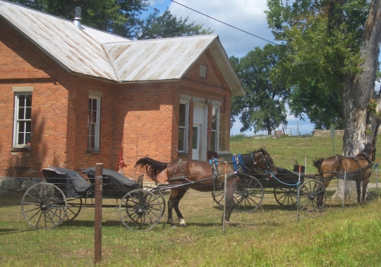old amish schoolhouse
