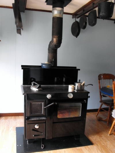 Old Style Amish Kitchen Stove