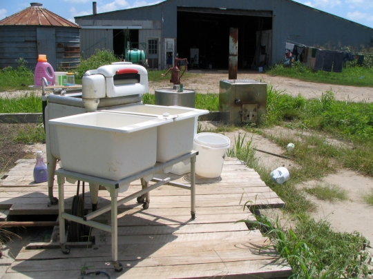 Old Style Washing Machine