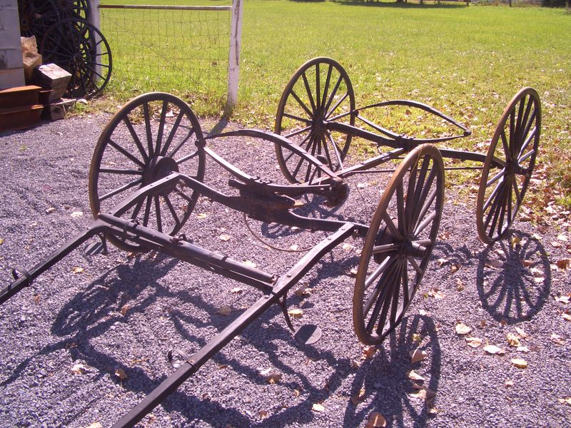 Amish buggy chassis
