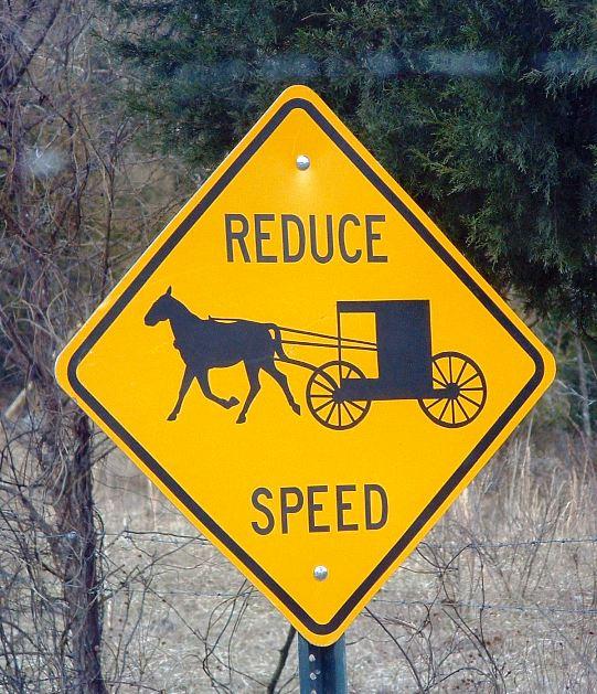 orange county indiana amish sign
