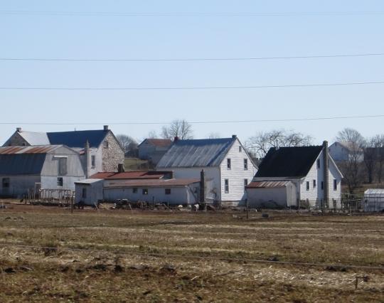 PA Amish Farmhouses