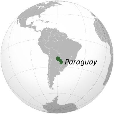 paraguay-world-map