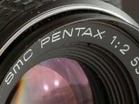 SMC Pentax camera lens