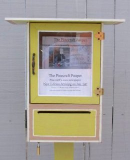pinecraft pauper newspaper