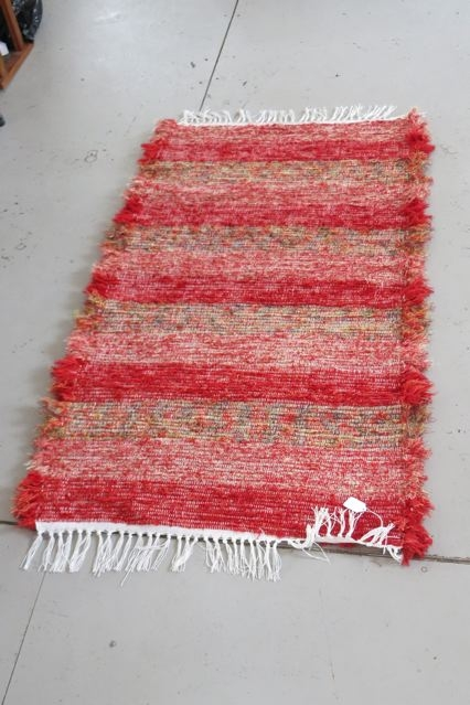 Red Amish Rug