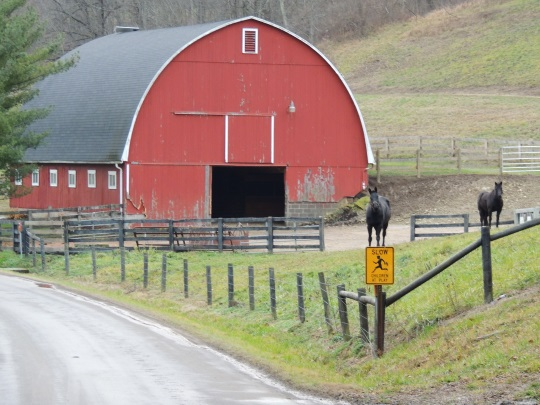 red-rounded-barn