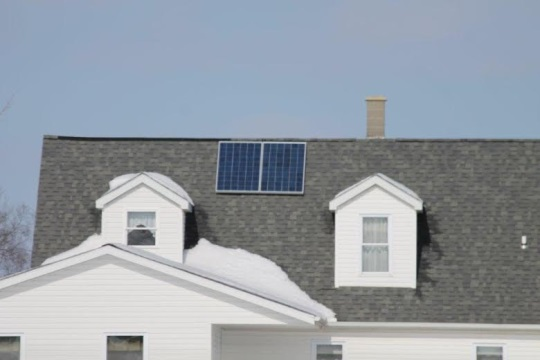 Rooftop Solar Amish IN