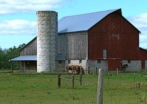 Roscommon Michigan Amish Barn