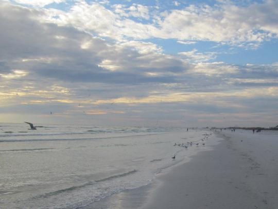 siesta-key-beach-dusk