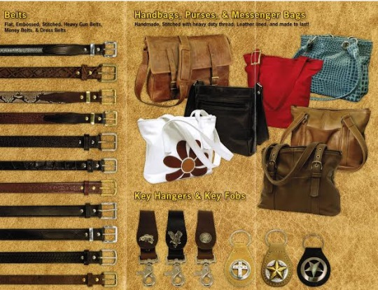 Silver Star Leather Brochure Interior