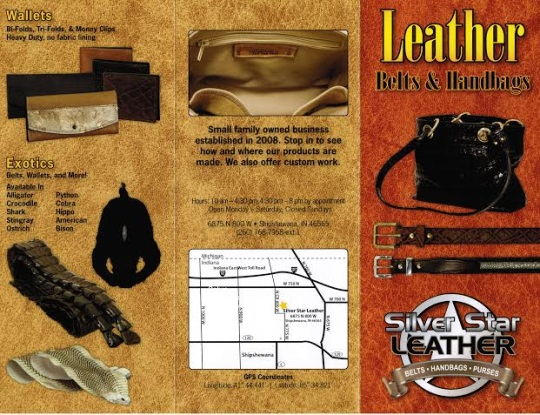 Silver Star Leather Brochure