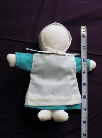 Kathy the Amish Doll Maker