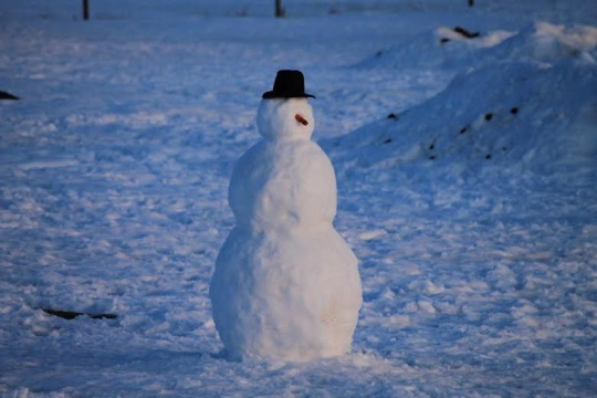 snowman-and-hat