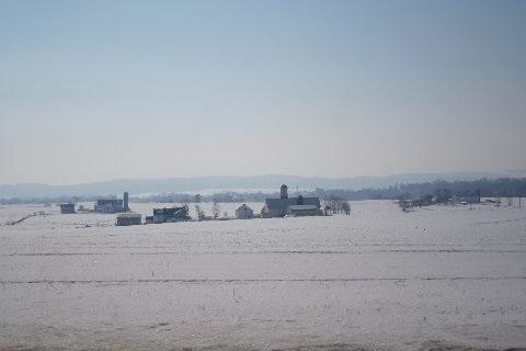 Snowy PA Landscape