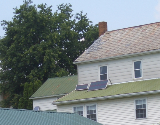solar panels amish holmes county