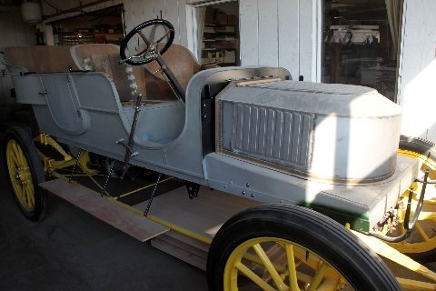 Stanley Steamer Vehicle